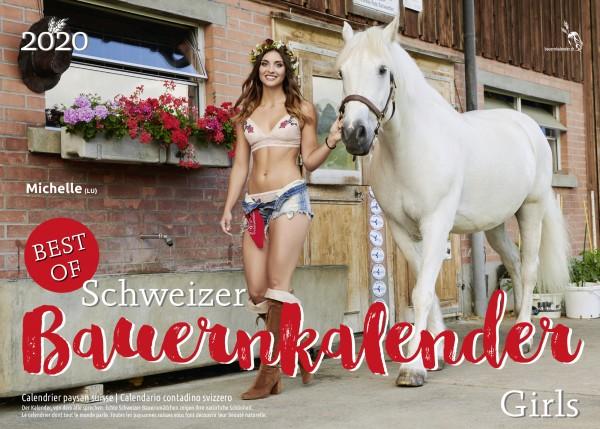 Schweizer Bauernkalender Girls 2020