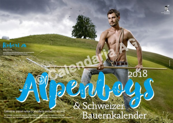 Schweizer Bauernkalender Boys 2018