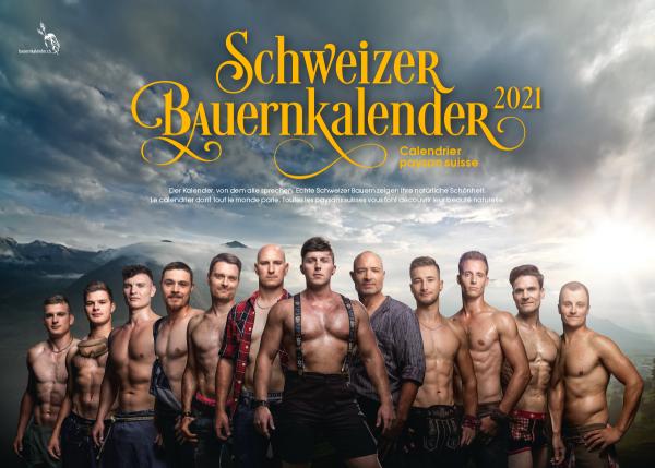 Schweizer Bauernkalender Boys 2021