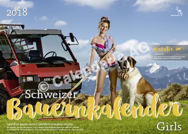 Schweizer Bauernkalender Girls 2018
