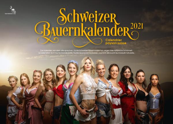 Schweizer Bauernkalender Girls 2021