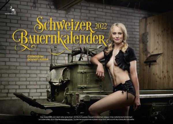 Schweizer Bauernkalender Girls 2022