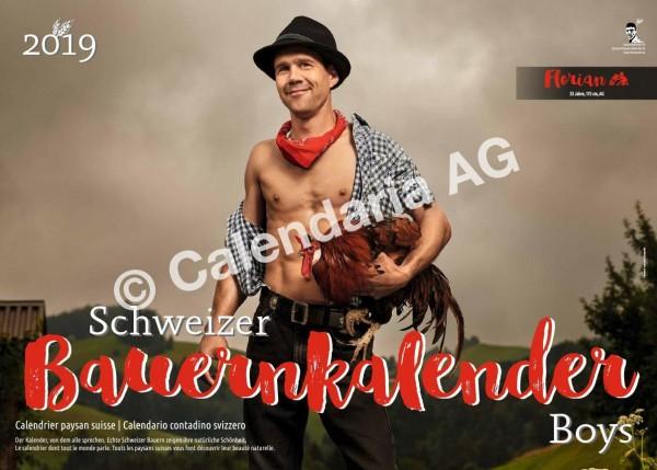 Schweizer Bauernkalender Boys 2019