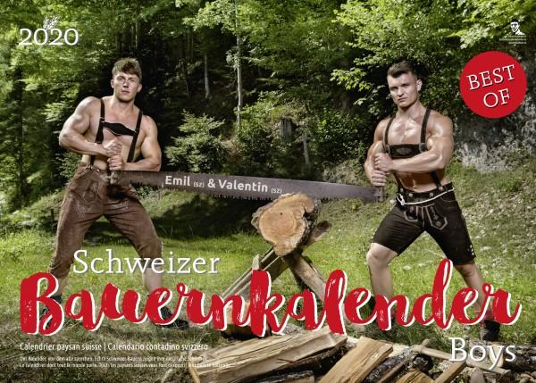 Schweizer Bauernkalender Boys 2020